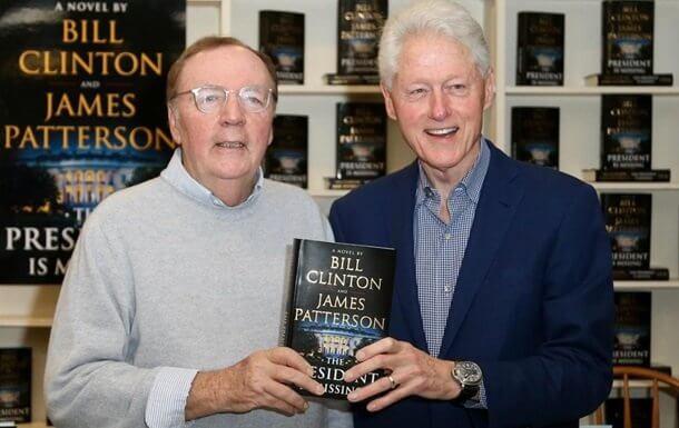 Билл Клинтон детектив роман ёзади