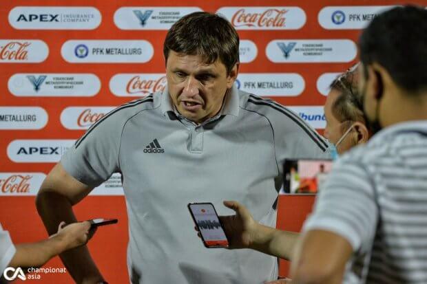"""Andrey Shipilov: """"Futbolchilarimning ko'zida xohish va intilish ko'rmadim"""""""
