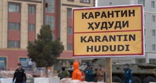 Тошкентда 99та маҳалла «қизил» ҳудудга киритилган