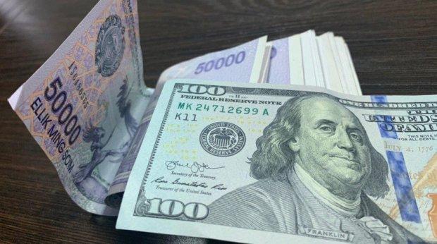 O'zbekistonda dollarning rasmiy kursi 10200 so'mga yaqinlashdi