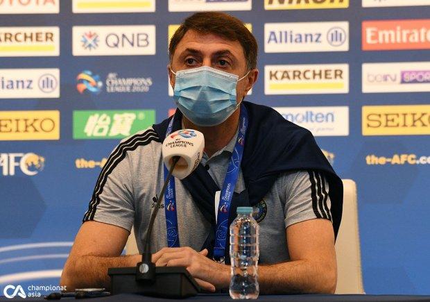"""""""Al Hilol"""" - """"Paxtakor"""". Shota Arveladze va Yegor Krimes ishtrokidagi o'yinoldi matbuot anjumani"""