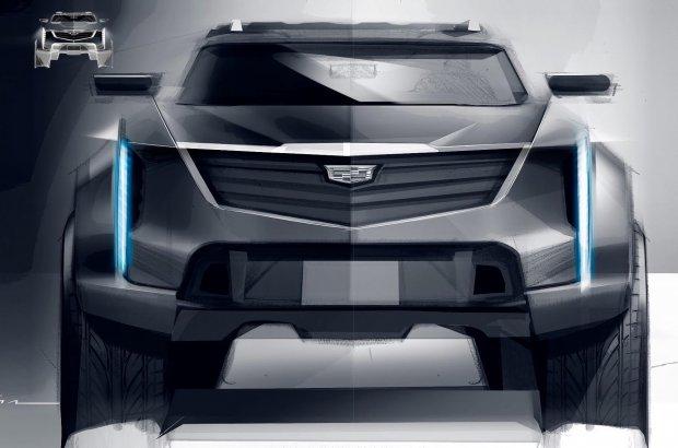 Сирли Cadillac йўлтанламасининг дизайни ошкор бўлди