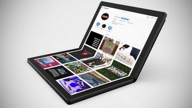 Биринчи буклама ноутбук сотувга чиқди (фото, видео)