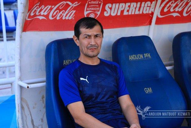 """Baxtiyor Hamidullayev: """"Yigitlar bilan jiddiy gaplashib olamiz. Futbolni bunday o'ynab bo'lmaydi"""""""