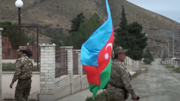 Алиев Қорабоғнинг назорат қилинадиган қисмида вақтинчалик маъмурият тузди