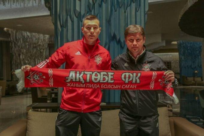 "Igor Sergeyev ""Aktobe"" futbolchisiga aylandi!"
