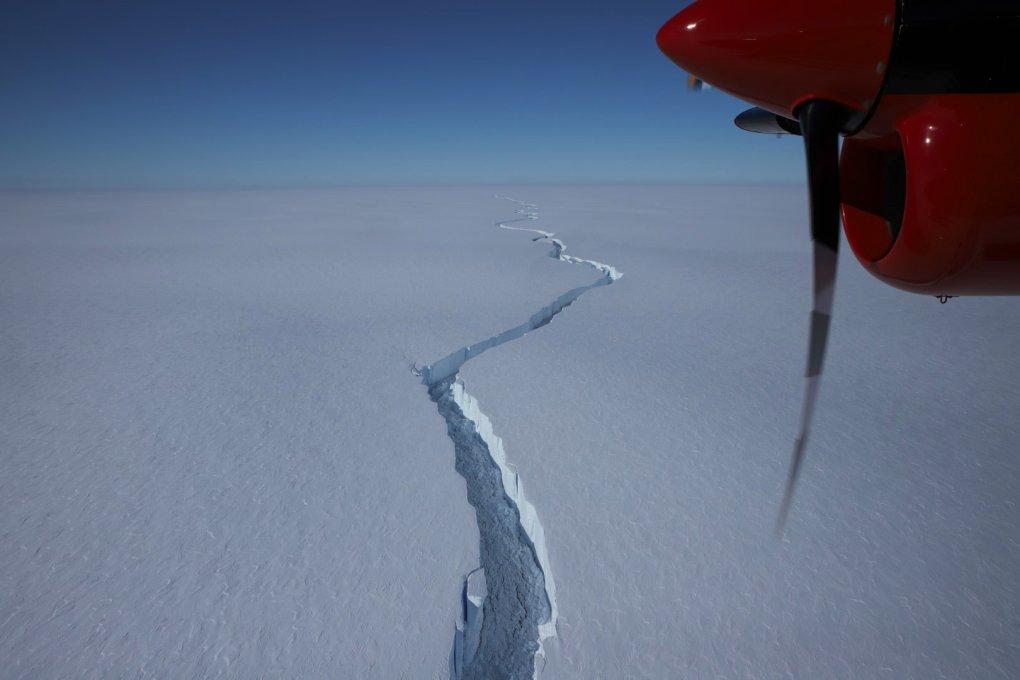 Antarktidadan ulkan aysberg ajralib chiqdi