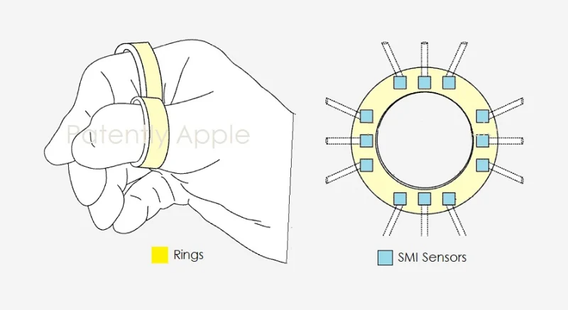 Apple barmoqlarga taqiladigan o'zining yangi qurilmasini namoyish etdi