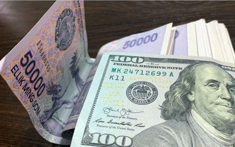 O'zbekistonda dollarning rasmiy kursi qatorasiga uchinchi kun pastladi