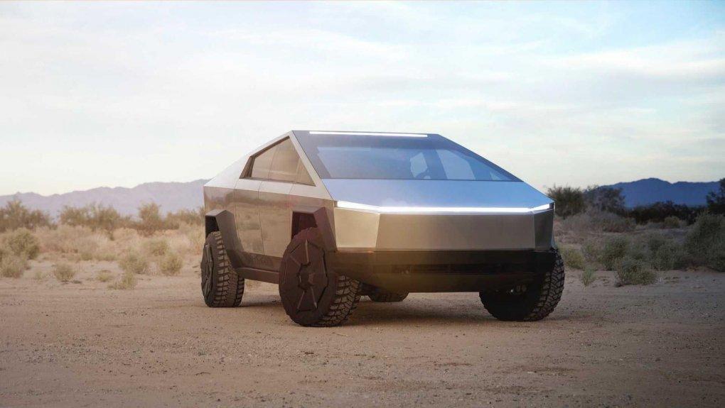 Tesla Cybertruck pikapiga eshik tutqichlar umuman o'rnatilmasligi ma'lum bo'ldi