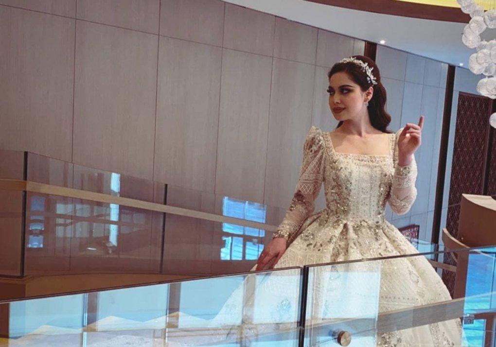 Aktrisa Madina Nigmatullayeva «Omonat» serialidagi partnyoriga turmushga chiqdi (video)