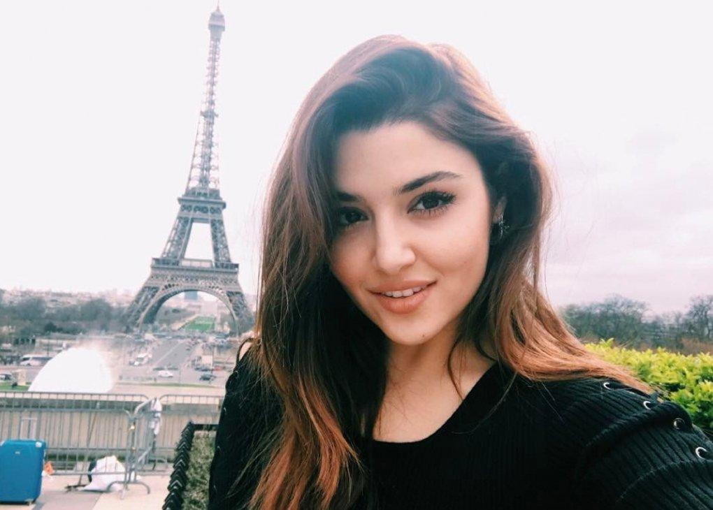 Turk aktrisasi Xande Erchel Instagram'dagi obunachilari soni bo'yicha Neslihan va Fahriyeni ortda qoldirdi
