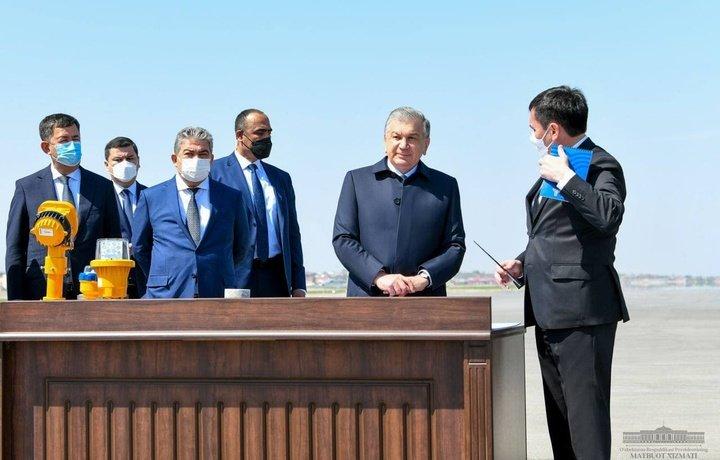 Шавкат Мирзиёев Самарқанд вилоятига ташрифини бошлади