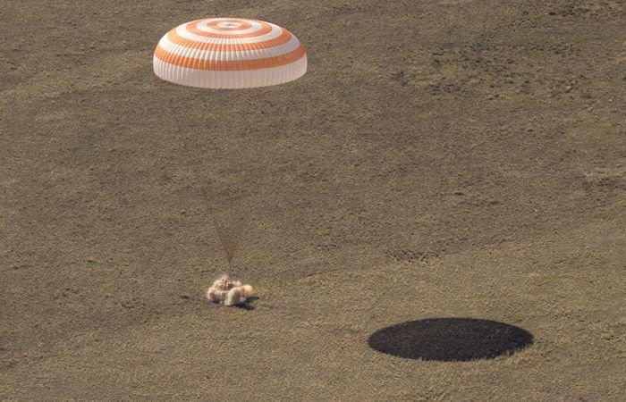 «Soyuz MS-17» ekipaji 185 kundan keyin Yerga qaytdi