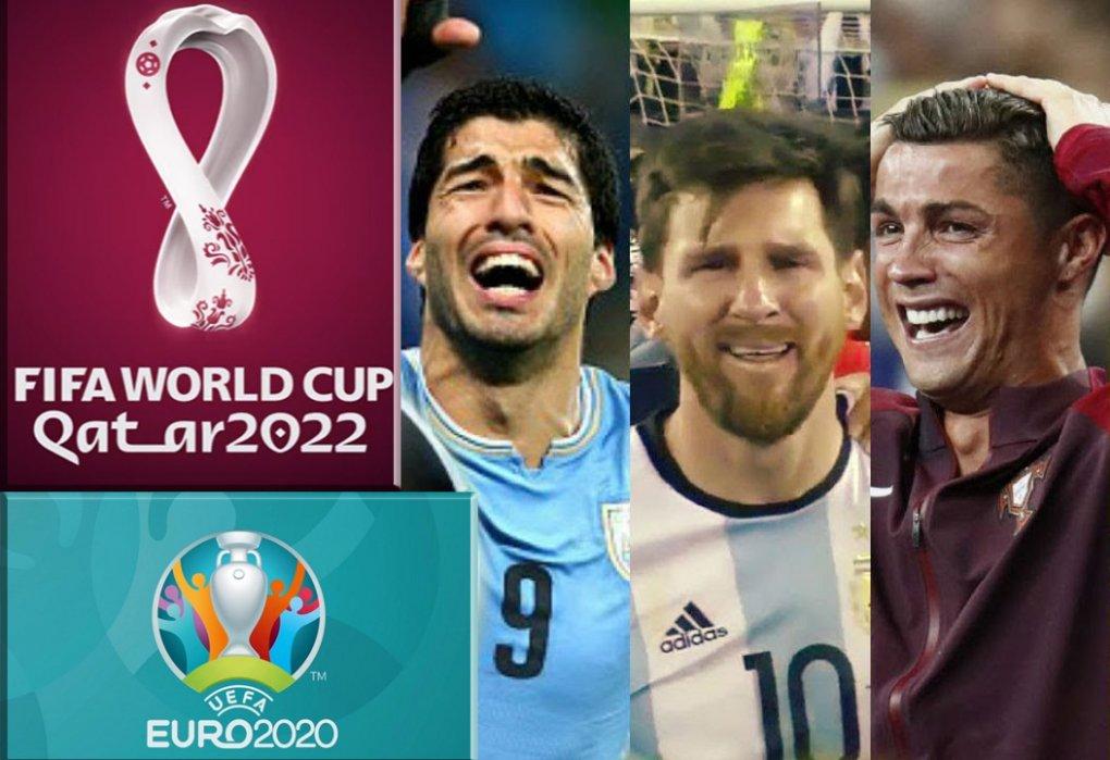 """Месси, Роналду ва яна бир қатор юлдузлар """"Евро-2020"""" ва """"ЖЧ-2022""""да иштирок этмайди!"""