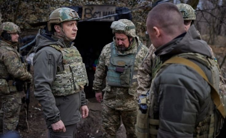 Украинлар рус босқинига қарши бирлашмоқда