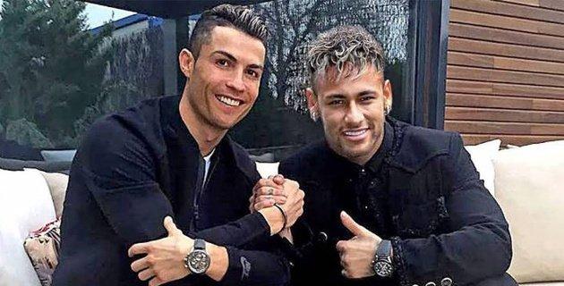 Neymar Messi bilan emas, Ronaldu bilan o'ynashni orzu qilyapti