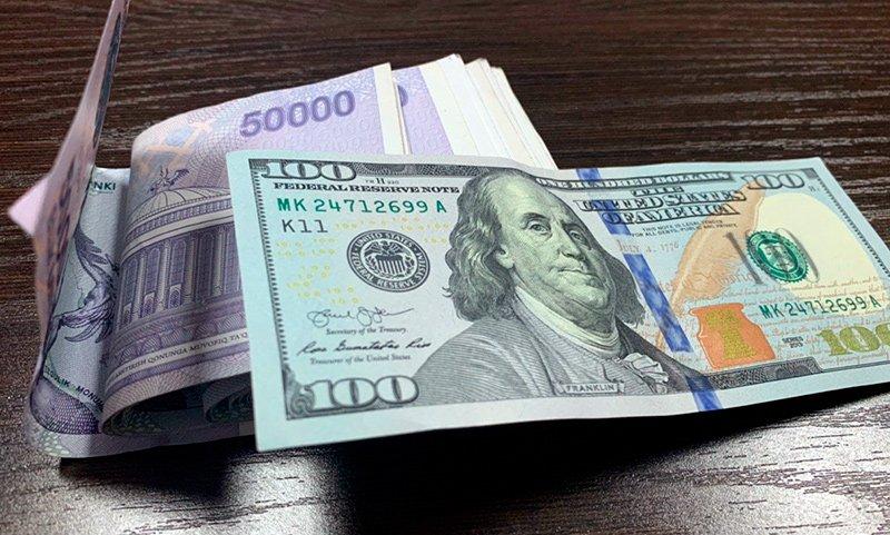 Ўзбекистонда долларнинг расмий курси ниҳоят пастлади