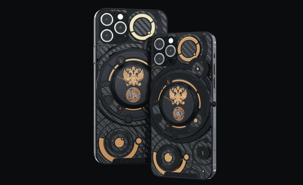 «Россия куни» муносабати билан корпусига соат ва герб туширилган iPhone 12 пайдо бўлди