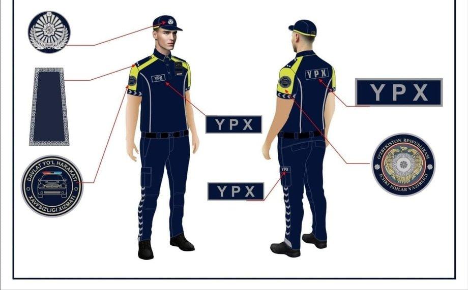 YPX xodimlarining yangi formalari namoyish etildi (foto)