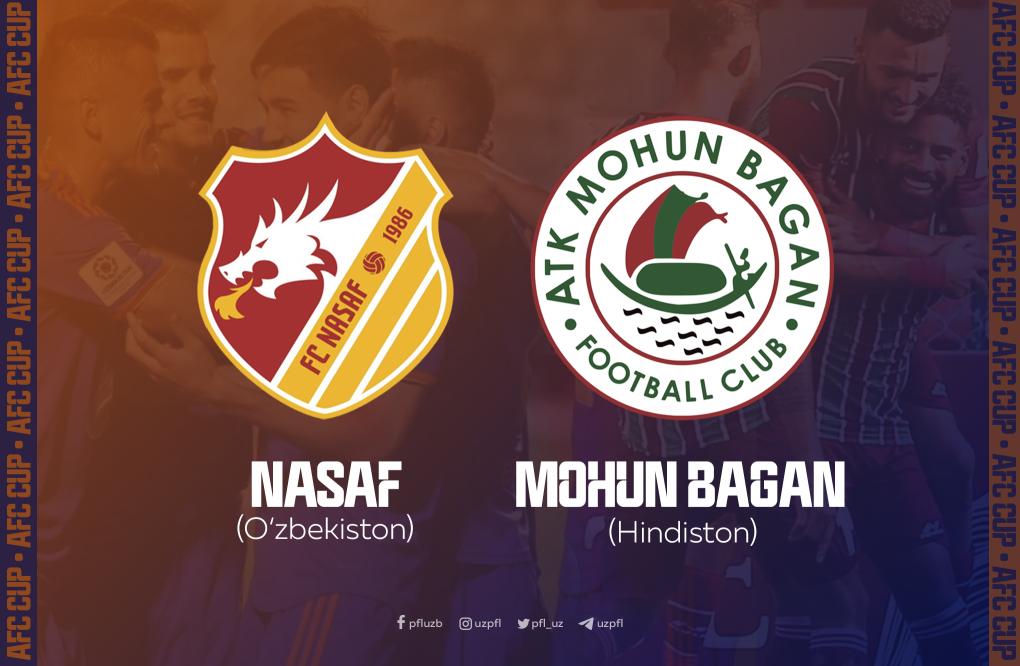 """""""Nasaf"""" OFK kubogi yarim finalida Osiyoning eng qadimiy klublaridan biriga qarshi o'ynaydi"""
