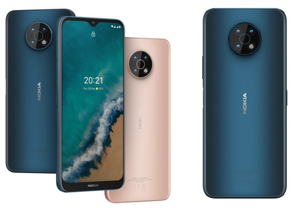 Nokia учталик камера ва 5G алоқа тармоғини қўллаб-қувватловчи G50 смартфонини тақдим этди