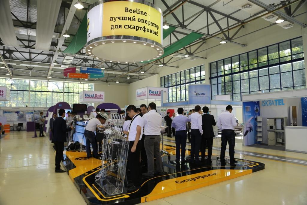ICTExpo-2015'даги Beeline'нинг инновацион стенди меҳмонлари тюнинг-бонуслардан бирини қўлга киритадилар