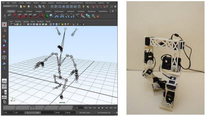 Disney компаниясида мультфильмлардаги каби ҳаракатланувчи робот яратилди